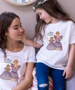 Fashion Family Look T shirt Super Mom& Daughter Mom & Kids Items cb5feb1b7314637725a2e7: 5364A|5364B|5364C|5364D|5364E|5364F|5364G|5364H|5364I|5364J|5364K|5364L|5364M