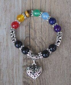 Crystal Bead Bracelet 7 chakra for Men Women Energized All Products Crystal Stone