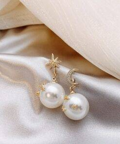 asymmetric Star exquisite crystal Water Drop earrings new Earrings Jewelry Items
