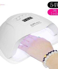 Nail Set with LED Lamp Health & Beauty