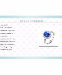 925 Sterling Silver Gemstone Rings New 925 Sterling Silver Ring 925 silver Jewelry Items