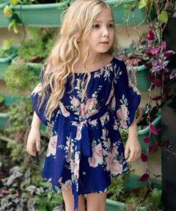 Floral Mini Dress Mom and Daughter Family Matching Mom & Kids Items