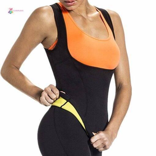 Sweat Sauna Body Shapers Vest Waist Trainer Shapewear Fashion Health & Beauty Women's Fashion