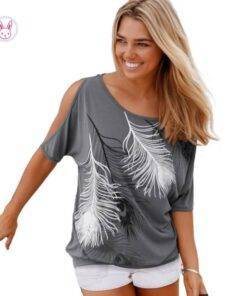 Women's Boho Printed T-Shirt Fashion Tops & Tees Women's Fashion