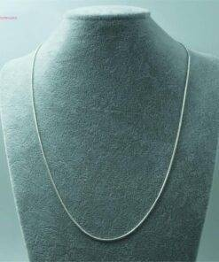 necklace 925 Silver Chokers Necklaces 1mm Snake Chains Necklace New 925 Sterling Silver Jewelry Items