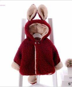 Infant Hooded Coat Jacket Baby & Kid's Clothing & Accessories Baby Girls Clothing