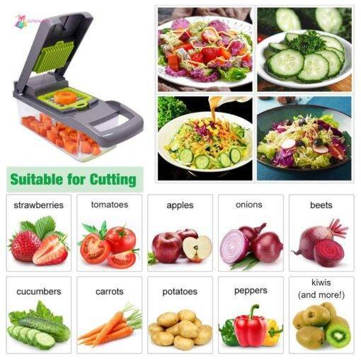 Multifunctional Vegetable Cutter 🔥 Bestseller