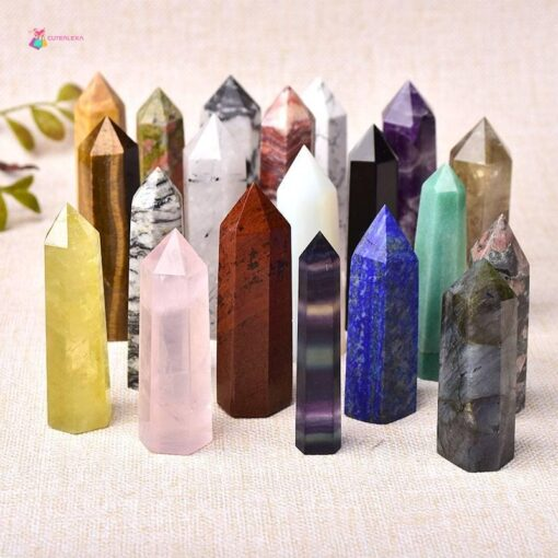crystal Stones Point Wand 🔮 Crystal Stone